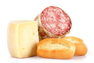 Pane,salame e formaggio