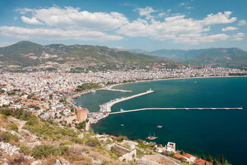 East coast beach resort of Turkey Alanya