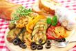 Knoblauch, Brot