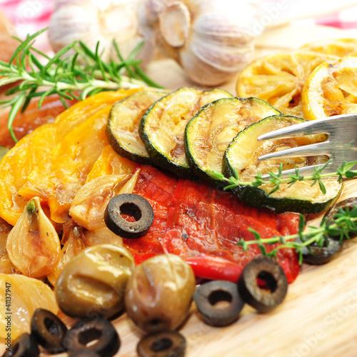 Gemüse, Grillen