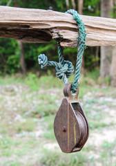 Rusty pulley