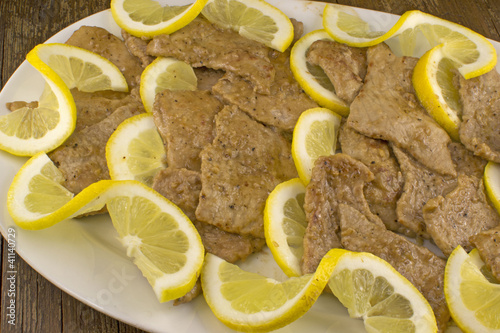 Scaloppine al limone