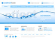 Water ecology website template