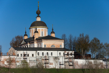 Christian cathedral in Pokrovskiy Hot'kov nunnery