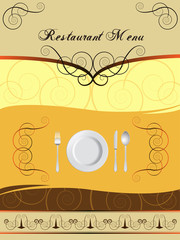 Menu Card Design