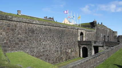 Entrance to Stirling Castle Scotland