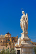 Archangel Raphael statue on bridge at Cordoba Spain
