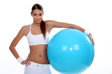Plastic Ball Exercises