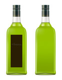 bottle of absinthe poster