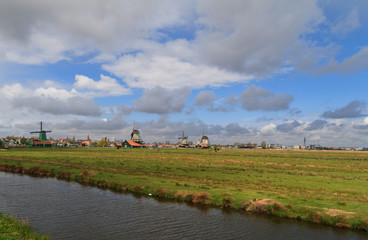 Holland countryside landscape