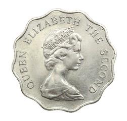Hong Kong coins 1980, 2 dollars