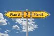 Plan A oder Plan B?