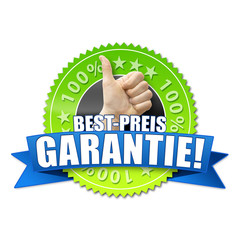 Bestpreis Garantie! Button, Icon