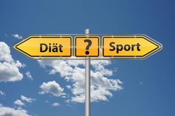 Was funktioniert besser - Diät oder Sport treiben?