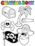 Coloring book with pirate topic 7 - 41151569
