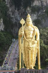 Statue at Batu cave Malaysia.