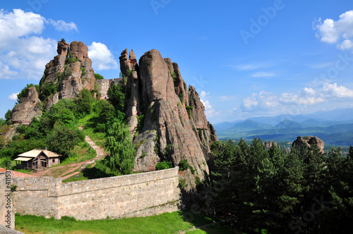 Belogradchik fortress in Bulgaria