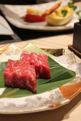 松阪牛の鉄板焼き