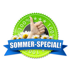 Sommer-Special! Button, Icon