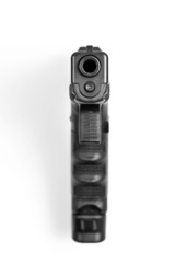 Pistole von vorne
