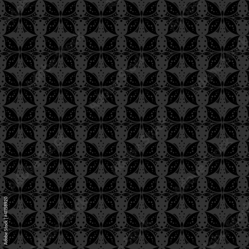 Pattern seamless background with butterflies