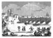 Ancient London Bridge - 18th century