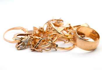 Jewelry  golden rings