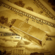 Dollars  and gold bullion