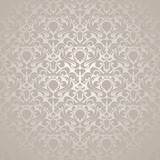 Fototapety Seamless Silvery wallpaper