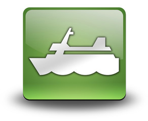 "Green 3D Effect Icon ""Cruise Liner"""