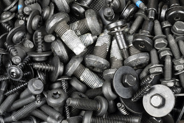 various screws for special purposes