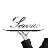 service presentation on white