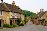 Quaint town of Castle Combe in the Cotswolds of England - 41170794