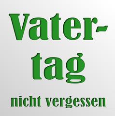 Banner Vatertag