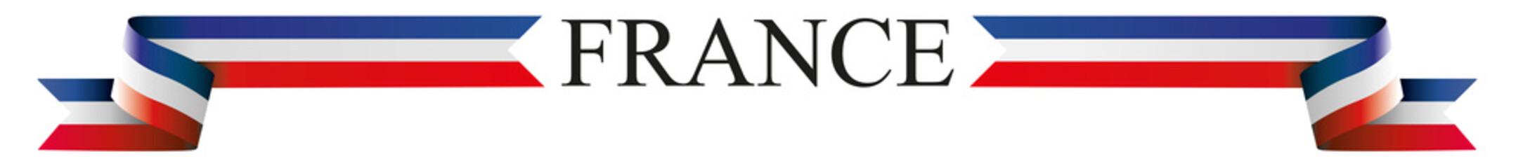 Vector France banner