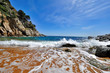 Beautiful wild coastline of Costa Brava, Spain