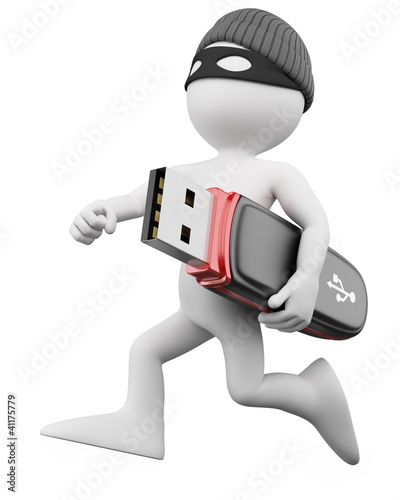3D Thief - Hacker