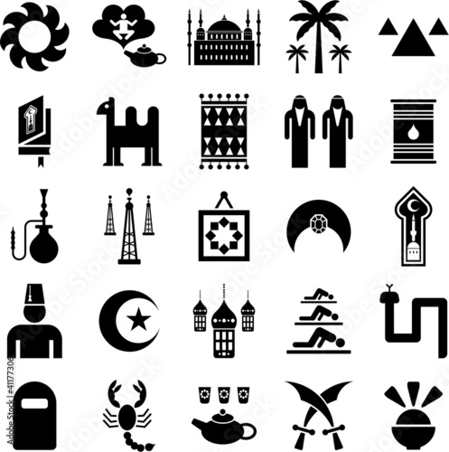 Arab countries icons