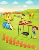 Fototapety Playground