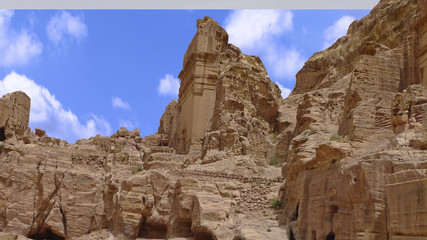 Petra, one of the seven wonders of the world, Jordan.