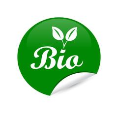 Bio Sticker grün
