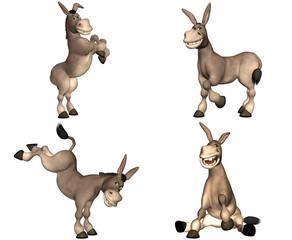 Donkey Cartoon Pack - 1of2