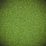 Artificial green grass texture poster