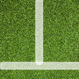 Line sport on artificial grass poster