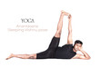 Yoga Anantasana pose