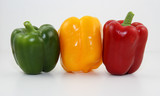 poivron pepper rouge red vert green jaune