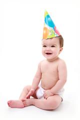 Baby laughing / celebrating