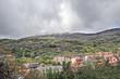 Vista parcial de Baños de Montemayor, Cáceres, España