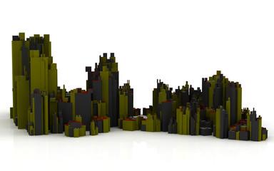 Stadtsilhouette
