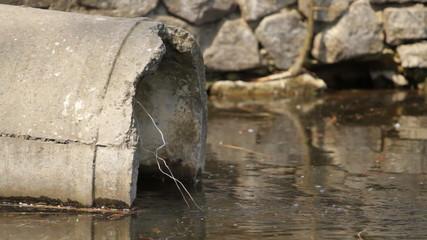 sewage pipe